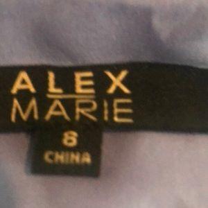 Alex Marie Dresses - Alex Marie lavender special occasion dress w/tags